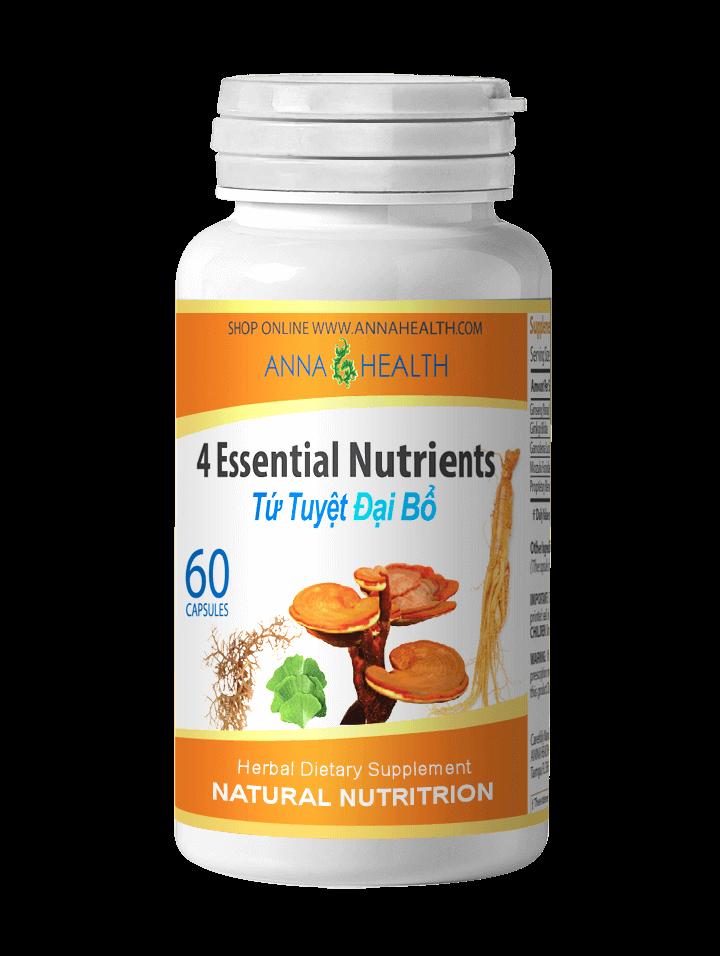 4 Essential Nutrients
